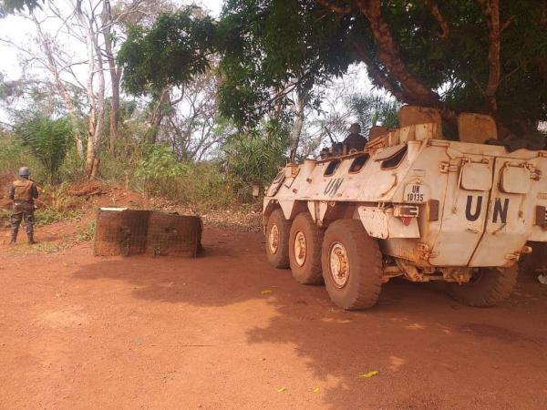أفريقيا الوسطى .. القوات المسلحة الملكية تؤمن مدينة بانغاسو بالكامل بعد فرار مسلحين(صور)