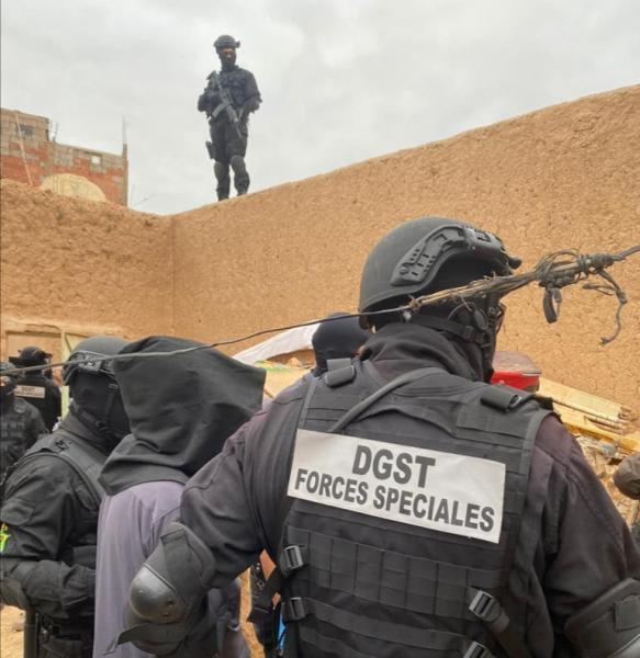 """بالتفاصيل والصور.. تفكيك خلية إرهابية موالية لـ""""داعش"""" بضواحي مراكش"""