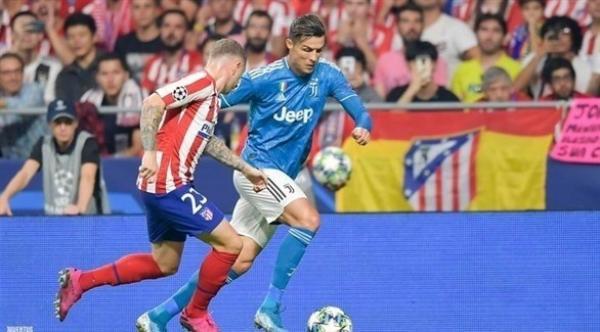 أتلتيكو مدريد ينجو من الخسارة أمام يوفنتوس في الوقت القاتل (فيدو)