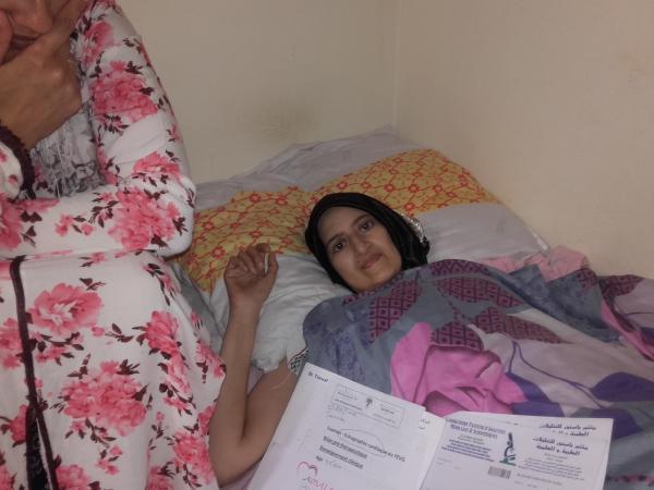 نداء إنساني لذوي القلوب الرحيمة من أختكم سميرة بآسفي