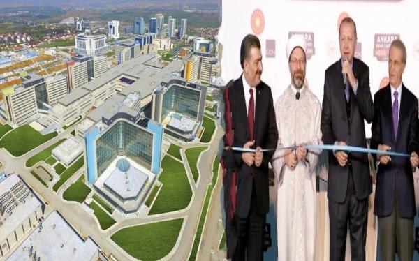 الأول في أوروبا والثالث عالميا: أردوغان يفتتح أكبر مستشفى بطاقة استيعابية خيالية (صور وفيديو)