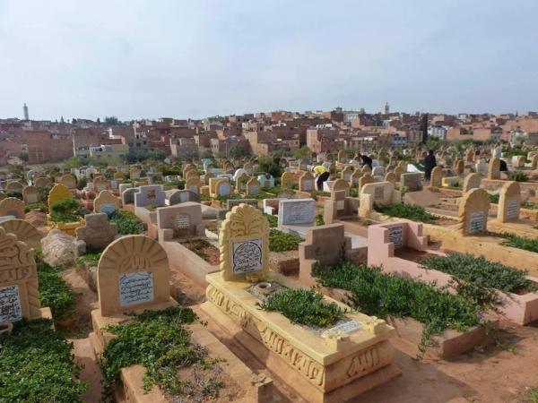 حدث ببني ملال...ذهب ليزور قبر أبيه فوجد مفاجأة استنفرت الأجهزة الأمنية