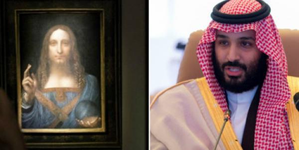 """ولي العهد السعودي هو مقتني  لوحة المسيح """"مخلص العالم"""" بـ450 مليون دولار"""