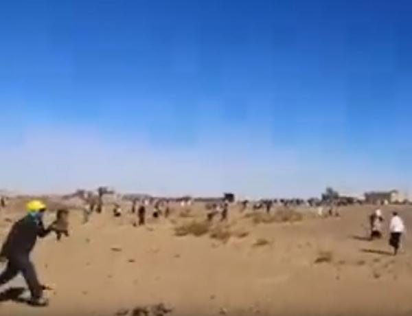 مواجهات عنيفة بالحجارة بين قبيلتين حول الاراضي بتنجداد إقليم الراشدية