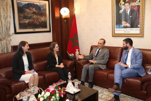 """عند استقباله لشخصيات غربية...""""المالكي"""" يبرز الأهمية التي توليها المملكة المغربية لقطاع الماء"""