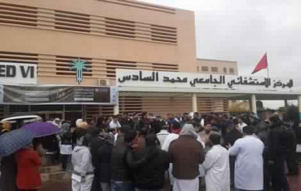 """كورونا تطال عشرات العاملين بCHU مراكش... والإدارة تحاصر """"المستشفيات"""""""