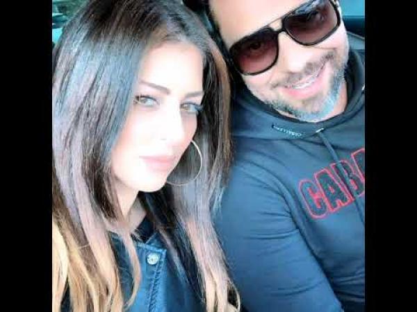 """""""مسلم"""" و""""أمل صقر"""" ينشران أول فيديو يجمعهما بعد إعلانهما رسميا خبر زواجهما"""