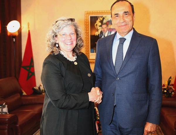 """""""المالكي"""" يدعو إلى تعزيز التعاون المغربي والأمريكي ويشيد بالعلاقة بين البلدين وهذه التفاصيل"""