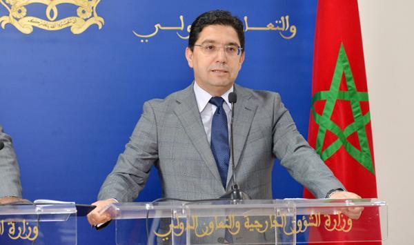 """وزير الخارجية """"بوريطة"""" يتباحث مع نظيره الغابوني"""