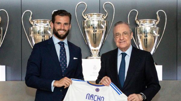 ريال مدريد يمدد عقد ناتشو