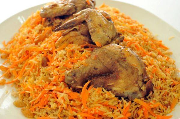 أرز بالدجاج بطريقة مبتكرة
