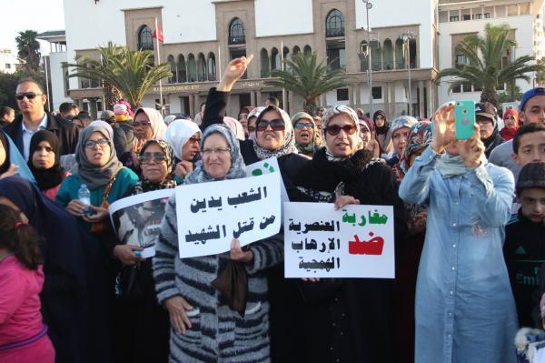 """محتجون مغاربة تنديدا بمجزرة نيوزيلندا يتساءلون عن غياب فعاليات حقوقية تدافع عن قضايا """"أقل شأنا"""" (فيديو)"""