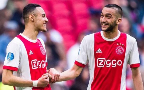 زياش ومزراوي على بعد 90 دقيقة من التتويج بلقب الدوري الهولندي