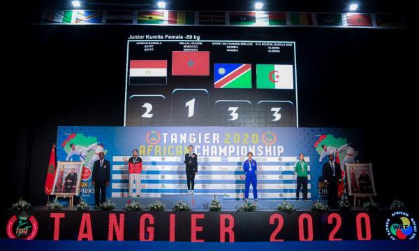 المنتخب المغربي يحرز لقب البطولة الإفريقية للكراطي