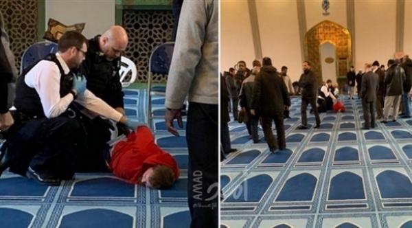 إرهابي يقتحم مسجدا بلندن ويطعن مؤذنه العجوز