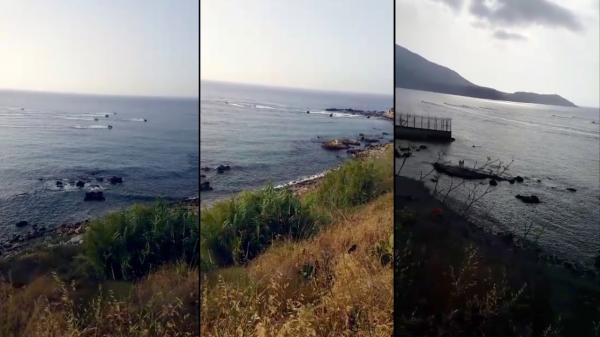 فيديو مثير...دراجات مائية تقتحم سبتة المحتلة بسرعة خاطفة وتعود بشخصين مجهولين إلى الجانب المغربي