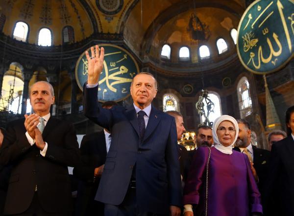 """في """"قرار تاريخي"""" .. تركيا تحول """"آيا صوفيا"""" رسميا إلى مسجد"""
