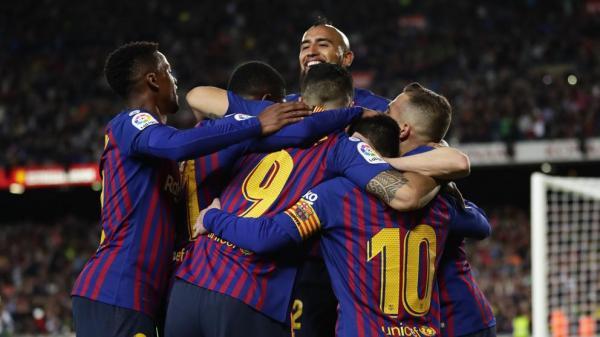 برشلونة بطلا للدوري الإسباني للمرة الـ26 في تاريخه (فيديو)