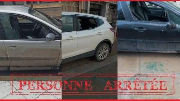 تكسير 21 سيارة واحدة بالشارع العام بالدار البيضاء وإصابة شرطي بالسلاح الأبيض
