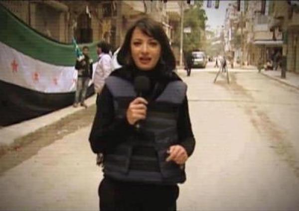 أنباء عن اغتصاب مذيعة الجزيرة غادة العويس بسوريا