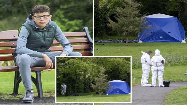 """تطورات """"عنصرية"""" صادمة في قضية اليافع المغربي """"عزام"""" الذي قتل عمدا وهو صائم بحديقة عمومية بإيرلندا"""