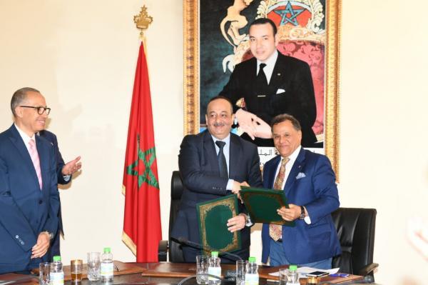 توقيع اتفاقية شراكة بين وزارة الثقافة والاتصال والمؤسسة الوطنية للمتاحف حول البينالي الدولي للرباط