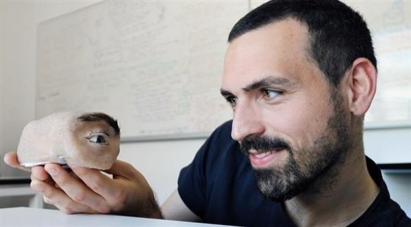 تطوير كاميرا مراقبة على شكل عين بشرية