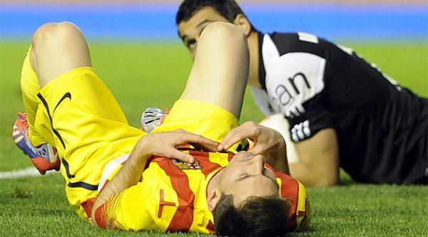 أوساسونا يضع حدا لانتصارات برشلونة بالدوري الاسباني