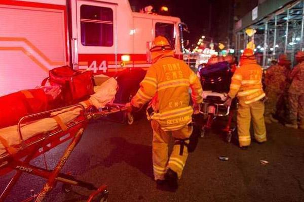 وفاة شخصين أحدهما صبي يبلغ من العمر 12 عاما ، في حريق بشقة في نيويورك