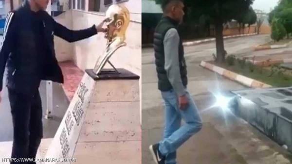 """فتى تركي """"أهان"""" أتاتورك فعاقبته الشرطة بـ""""طريقة غريبة"""""""
