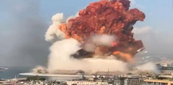 مرصد الزلازل الأردني: انفجار مرفأ بيروت يعادل طاقة زلزال بقوة 5ر4 درجة