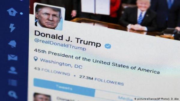 """ترامب يستأنف حكماً بمنعه من حظر متابعيه على """"تويتر"""""""