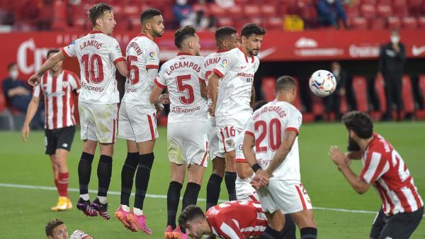 بلباو يجهز على آمال إشبيلية في الفوز بالدوري الإسباني