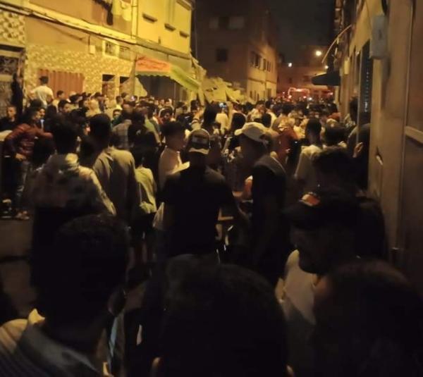 الدار البيضاء .. مصرع شخص في حادث انهيار مبنى من ثلاثة طوابق