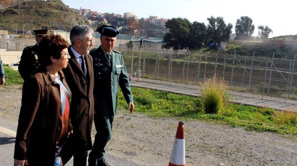 نظام تكنولوجي متطور لمراقبة الحدود بين المغرب وسبتة المحتلة
