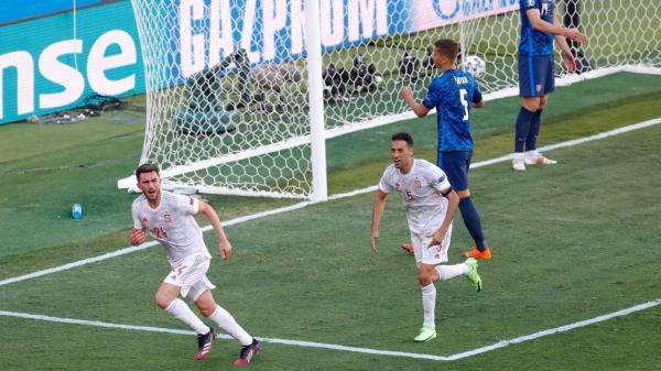 إسبانيا تنتفض بخماسية مدوية أمام سلوفاكيا ويتأهل إلى دور الثمن