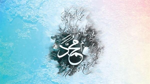 النبي صلى الله عليه وسلم وحفيدته أُمَامَة