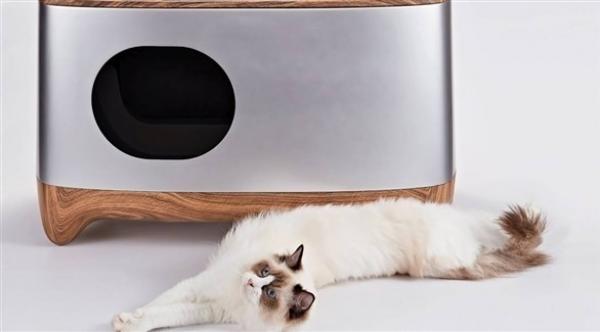 صندوق ذكي يطمئنك عن صحة قطتك عبر الهاتف