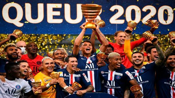 باريس سان جيرمان يحرز كأس الرابطة ويحقق الثلاثية