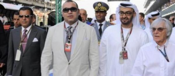 الملك محمد السادس يحضر منافسات سباق للفورمولا 1 بإمارة أبو ظبي