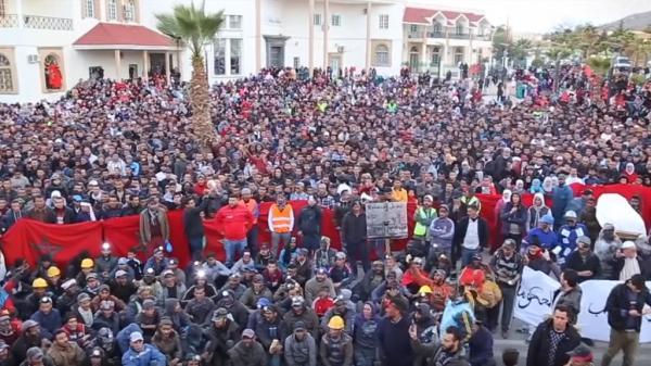 المغرب شهد خلال عامين 18 ألف مظاهرة خرج فيها حوالي 3 ملايين محتج