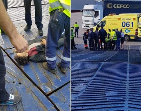 """مراهق مغربي ينجح في """"الحريك"""" إلى ألميريا الإسبانية لكن نهاية مأساوية كانت في انتظاره بعد وصوله"""