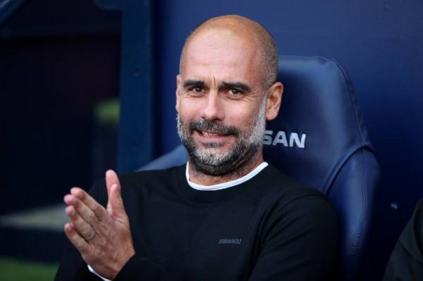 """""""غوارديولا"""" يشيد ب""""برشلونة"""" ويعلق على اعتقال """"بارتوميو"""""""