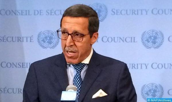"""السفير هلال: قضية الصحراء المغربية هي قضية وحدة ترابية وليس """"تصفية استعمار"""""""