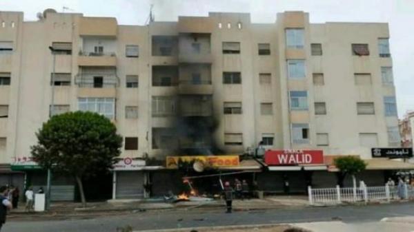 انفجار قوي يهز وسط مدينة أكادير ويثير رعب الساكنة(فيديو)