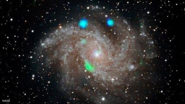 خبراء ناسا يرصدون أضواء لامعة غامضة في مجرة بعيدة