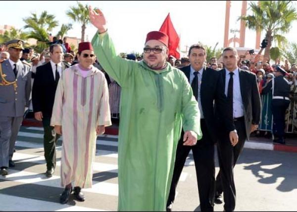 """الملك """"محمد السادس"""" يغادر أكادير ويحل بمدينة مغربية أخرى في زيارة رسمية"""