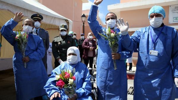 تسجيل رقم قياسي بالمغرب في عدد المتعافين من كورونا
