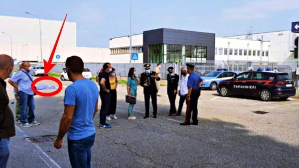 """صادم: شاحنة تدهس """"نقابي"""" مغربي بإيطاليا خلال مشاركته في اعتصام أمام الشركة التي يشتغل بها (صورة)"""