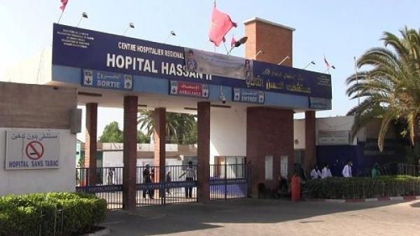 سكن وظيفي يشعلها  بـSAMU مستشفى الحسن الثاني بأكادير
